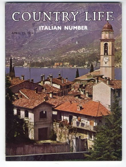 1974 COUNTRY LIFE MAGAZINE 25 April ITALIAN Number Lezzono RIALTO Castello Di Guarene RNLI